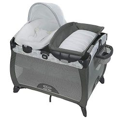 Graco Pack 'n Play Playard | Includes Portable Napper, Full-Size Infant Bassinet, and Diap ...