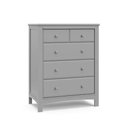 Graco Benton 4 Drawer Dresser (Pebble Gray) – Easy New Assembly Process, Universal Design, ...