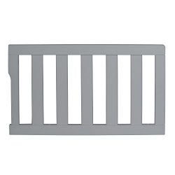 Dream On Me Universal Convertible Crib Toddler Guard Rail, Cool Grey