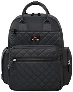 Diaper Bag Backpack, MATEIN Multi-Function Waterproof Travel Backpack Nappy Bags for Mom and Dad ...