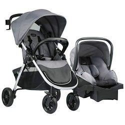 Evenflo Folio Travel System, Metro Gray