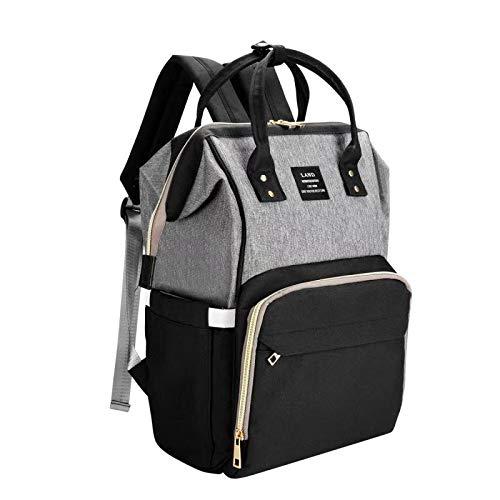 Land Backpack Diaper Bag Waterproof Baby Bag Diaper Backpacks for Mom Dad