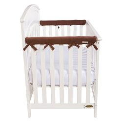 Trend Lab Waterproof CribWrap Rail Cover – for Narrow Side Crib Rails Made to Fit Rails up ...