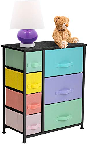 Sorbus Dresser with 7 Drawers – Furniture Storage Chest for Kid's, Teens, Bedroom, N ...