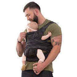 Boppy Comfyfit Baby Carrier, Black Gray Camo
