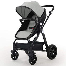 Baby Stroller Newborn Carriage Infant Reversible Bassinet to Luxury Toddler Vista Seat for Boy G ...