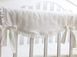 Sahaler Crib Rail Cover, Crib Protector from Chewing, Crib Rail Teething Guard, Crib Wrap for Nu ...