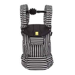 LÍLLÉbaby Complete Original 6-in-1 Ergonomic Baby & Child Carrier, Black/White – 100%  ...