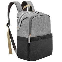 Diaper Bag Backpack, Canway Unisex Baby Bag Travel MaternityNappy Bag Large Capacity with Insul ...