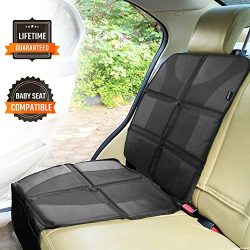 Sunferno Car Seat Protector – Protects Your Car Seat from Baby Car Seat Indents, Dirt and  ...