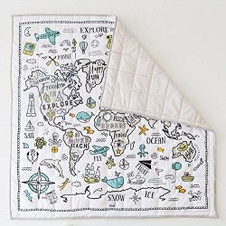 Organic Baby World Explorer Playmat – Playmat – Nursery Rug – Gender Neutral B ...