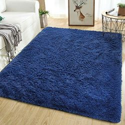 Softlife Soft Area Rugs for Living Room 5.3′ x 7.6′ Comfy Indoor Fluffy Fur Floor Ca ...