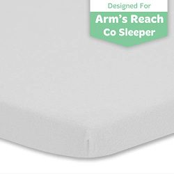 Baby Cradle Sheet Fitted 18 x 36 – Compatible with Arms Reach Co Sleeper Cambria, Clear Vu ...