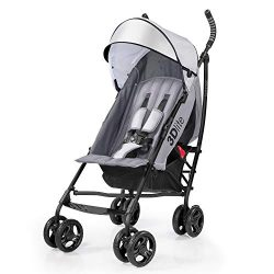 Summer 3Dlite Convenience Stroller, Gray – Lightweight Stroller with Aluminum Frame, Large ...