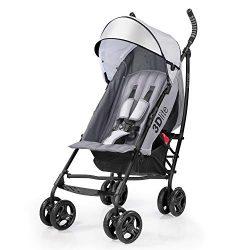 Summer 3Dlite Convenience Stroller, Gray – Lightweight Stroller with Aluminum Frame, Large ...