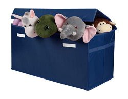 LUXENNO Toy Chest Organizers (Navy Blue)