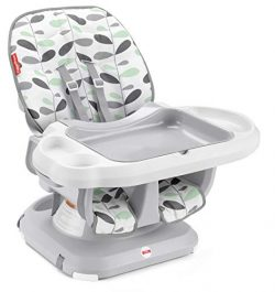 Fisher-Price SpaceSaver High Chair – Climbing Leaves, convertible infant-to-toddler dining ...
