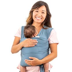WeeSprout Baby Wrap Carrier – Perfect Baby Carrier Wrap Sling for Newborn and Infant ̵ ...