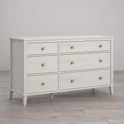 Little Seeds Monarch Hill Poppy 6 Drawer Dresser, Ivory Oak