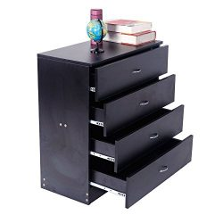 4 Drawers Universal Dresser Chest Cabinet,Kids Bedroom Dresser with 4 Drawers,Modern Storage Dre ...