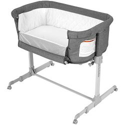 Baby Bassinet Bedside Sleeper, Co Sleeper for Baby, Transforms to Playpen, Easy Folding Portable ...