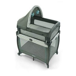 Graco My View 4 in 1 Bassinet | Baby Bassinet with 4 Stages, Including Raised Bassinet at Eye Le ...