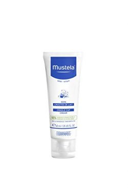 Mustela Mustela Baby Cradle Cap Cream, Fragrance-Free, with Natural Avocado Perseose, 1.35 Ounce ...