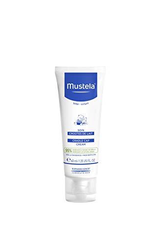 Mustela Mustela Baby Cradle Cap Cream, Fragrance-Free, with Natural Avocado Perseose, 1.35 Ounce ...