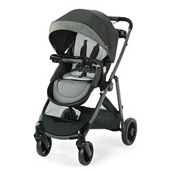 Graco Modes Element LX Stroller | Baby Stroller with Reversible Seat, Extra Storage, Child Tray, ...