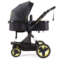 Cynebaby Stroller Bassinet Reversible Pram Strollers Infant All Terrian Baby Carriage City Selec ...
