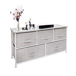 East Loft Extra Wide Storage Cube Dresser Organizer for Closet, Nursery, Bathroom, Laundry or Be ...