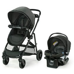 Graco Modes Element Travel System | Includes Baby Stroller with Reversible Seat, Extra Storage,  ...