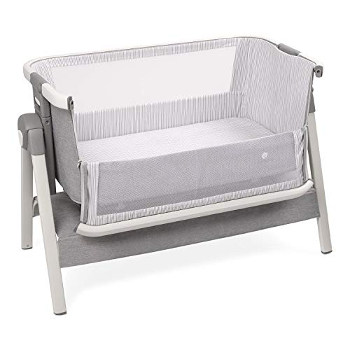 Bed Side Crib for Baby – Sleeper Bassinet Includes Travel Case, Mattress, Sheet, and Urine ...