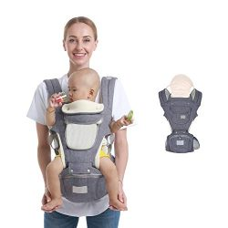 Ergonomic Baby Hip Seat Carrier Baby Waist Stool for Newborn Child Infant Toddler with Cool Air  ...