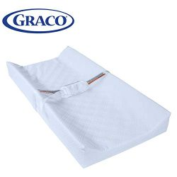 Graco Premium Contoured Infant and Baby Changing Pad – Ultra Soft Buckle Cover for Premium ...