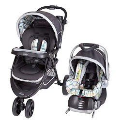 Baby Trend TS41A01A Nexton Baby Stroller & Infant Car Seat Travel System, Phunk Plaid