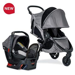 Britax B-Free Sport Travel System with Endeavours Infant Car Seat – Birth to 65 Pounds, Asher