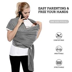 FRUITEAM Baby Sling, Newborn Wrap Sling, The Best Choice for Taking Care of Baby, Baby Carrier f ...